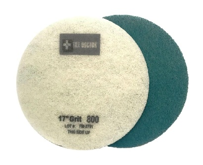 17 Inch   800 Grit Medium Blue No.2 Burnishing Pad