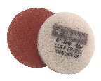 6 Inch  400 Grit Coarse Red No1. Burnishing Pad