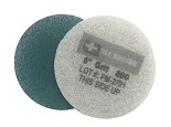 6 Inch  800 Grit Medium Blue No.2 Burnishing Pad
