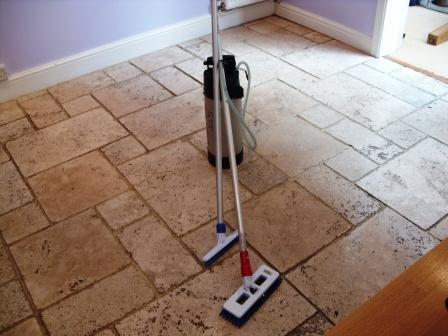 Limestone Restoration Cleaning And Sealing Maintenance