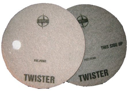 White Twister pad for Burnishing Marble floors