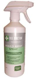 Click here for more information about Tile Doctor Mould Away a Fast effective formula for removing mould off Silicone and Grout.