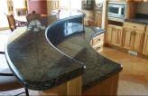 Curved Granite Countertop