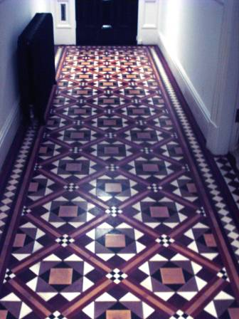 Victoria Floor Restored by Tile Doctor
