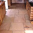 Slate Flagstone Floor in a kitchen