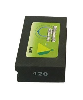 Diamond Hand Burnishing Block Black 120 Grit