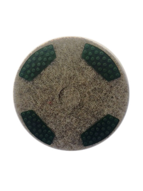 DRB 17 Inch 100 Grit Very Coarse Diamond Milling Pad with Segments