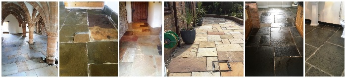 Flagstone Tile Cleaning