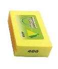 Diamond Hand Burnishing Block Yellow 400 Grit