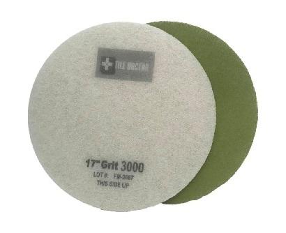 17 Inch  3000 Grit Very Fine Green No.4 Burnishing Pad