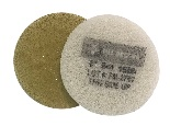 6 Inch 1500 Grit Fine Yellow No.3 Burnishing Pad