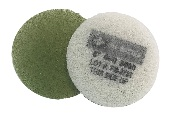 6 Inch 3000 Grit Very Fine Green No.4 Burnishing Pad