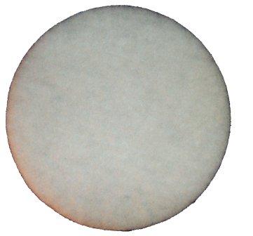 6 inch White Buffer Pads