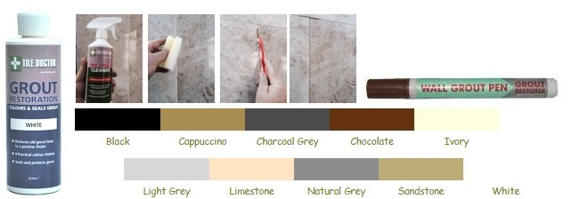 Tile Doctor | Tile Grout Cleaning and Colouring