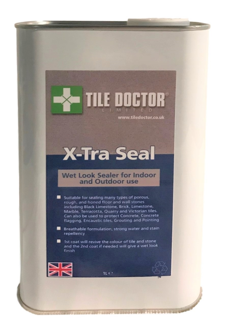 Tile Doctor X-Tra Seal - Impregnating wet look sealer for indoor and outdoor use