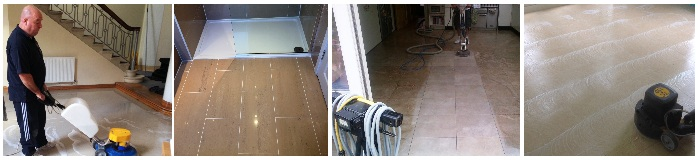 Cleaning and Polishing Porcelain tiles