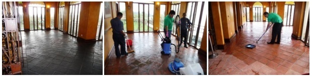 Cleaning and Renovating Terracotta Tiles