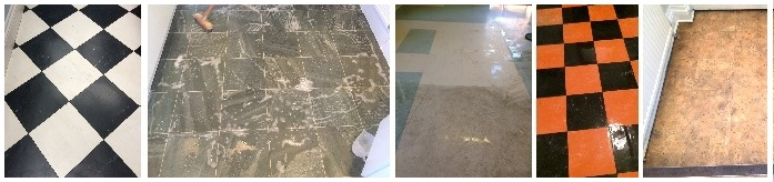 Cleaning and Renovating Vinyl Tiles