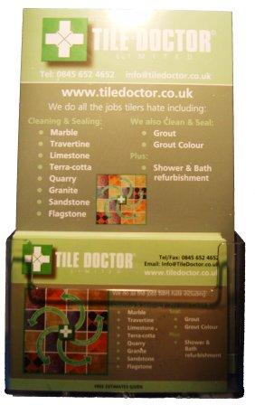 Tile Doctor Display Units & Display Boards