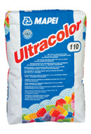 Mapei Ultracolour waterproof flexible wall and floor grout