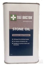 Tile Doctor Stone Oil is an easy to apply pre-polish impregnating sealer ideal for low porosity Stone and terracotta designed to enhance the colour and texture of floors.
