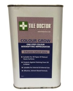 Tile Doctor Colour Grow, is a solvent based colour intensifying sealer that provides durable surface protection as well as enhancing colour.