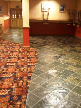 Slate Floor restored by Tile Doctor